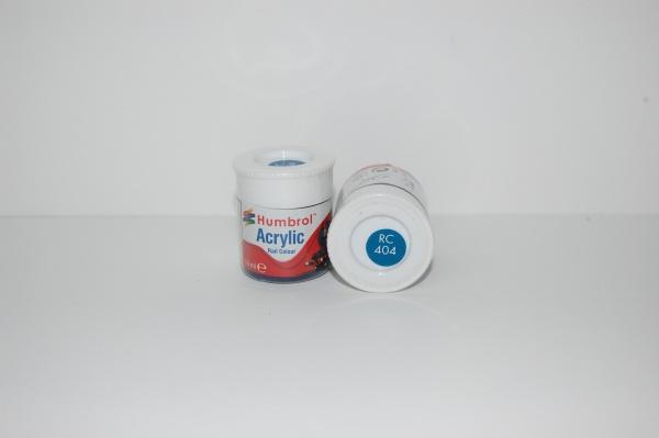 Acrylique Bleu Jarretière Peinture Ferroviaire Acrylique