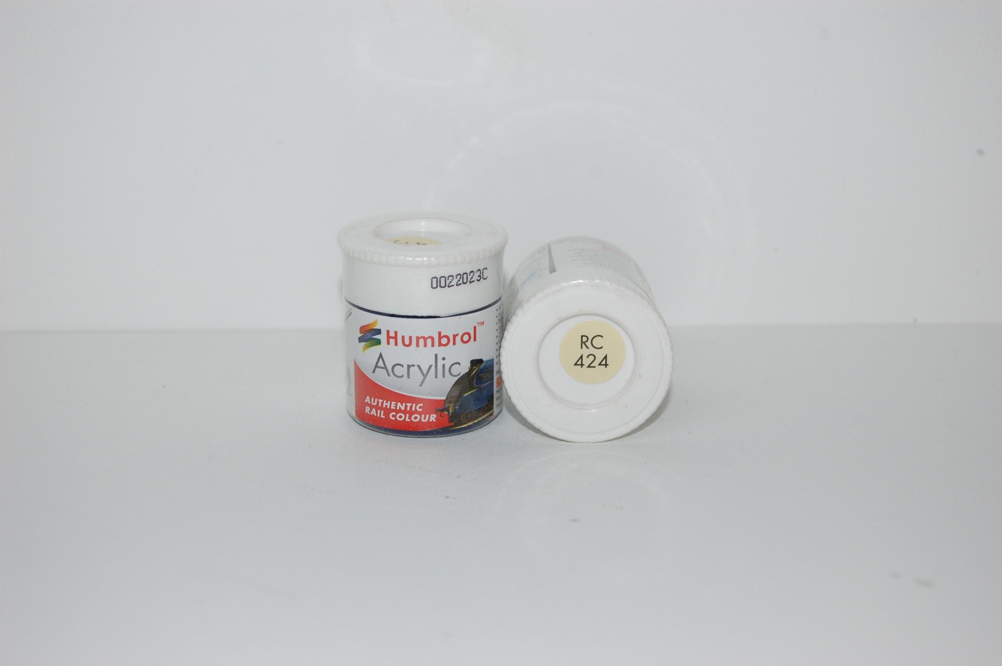 Acrylique Crème BR Peinture Ferroviaire Acrylique