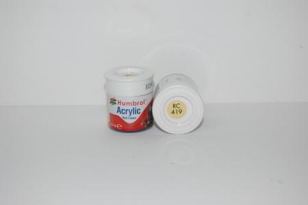 Acrylique Jaune EWS Peinture Ferroviaire Acrylique