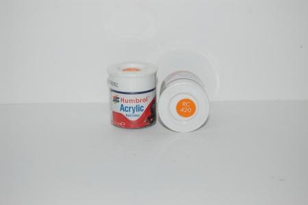 Acrylique Orange Filet BR Peinture Ferroviaire Acrylique