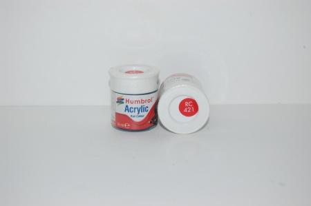 Acrylique Rouge Virgin Peinture Ferroviaire Acrylique
