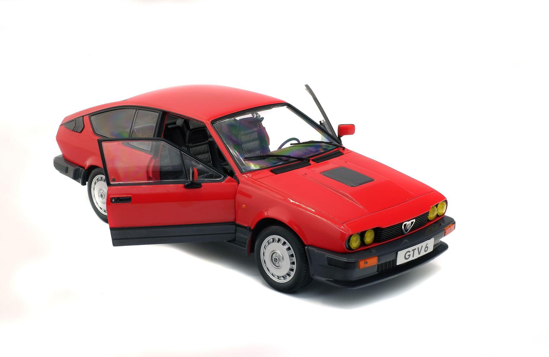 Alfa Roméo GTV6 Red 1984