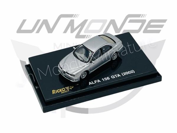 Alpha Roméo 156 GTA 2002 Silver