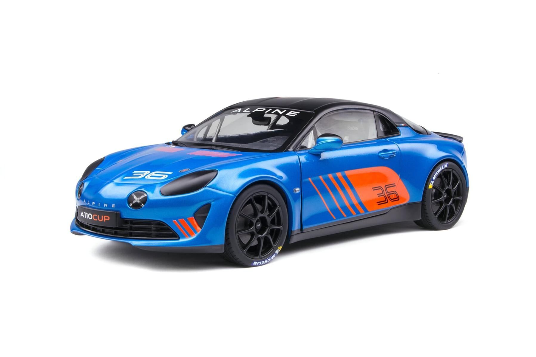 Alpine A110 CUP Launch livery