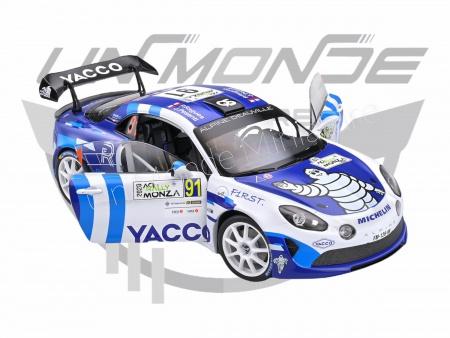 Alpine A110 rally WRC Monza 2020