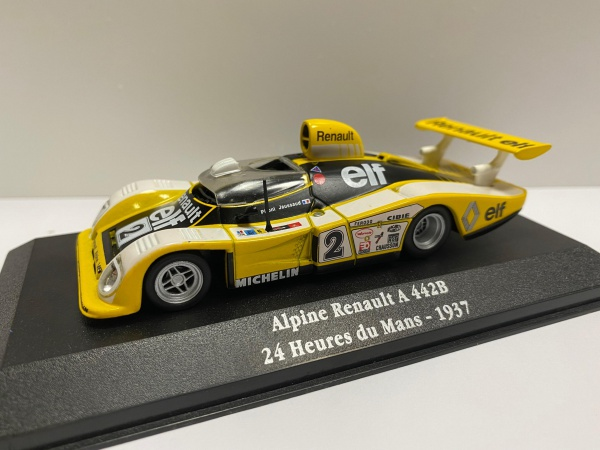 Alpine Renault A 442B 24 heures du Mans 1973