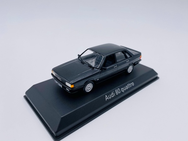 Audi 80 Quattro 1985 Dark Grey
