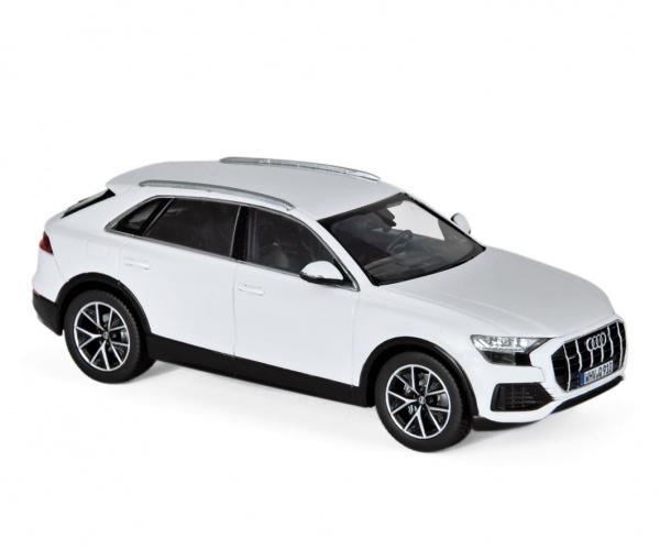Audi Q8 2018 White