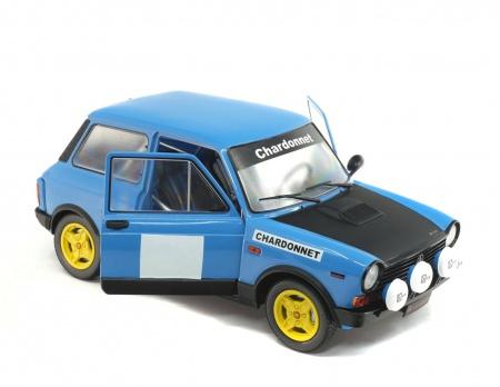 Autobianchi A112 MK Abarth Rallye Set Chardonnet 1980
