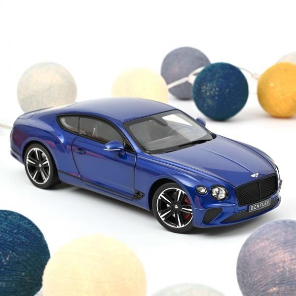 Bentley Continental GT 2018 Sequin Blue