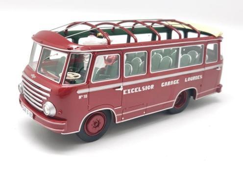 Berliet BUS GLA 5S DUBOS 1951 Version Ouverte Avec 2 Figurines