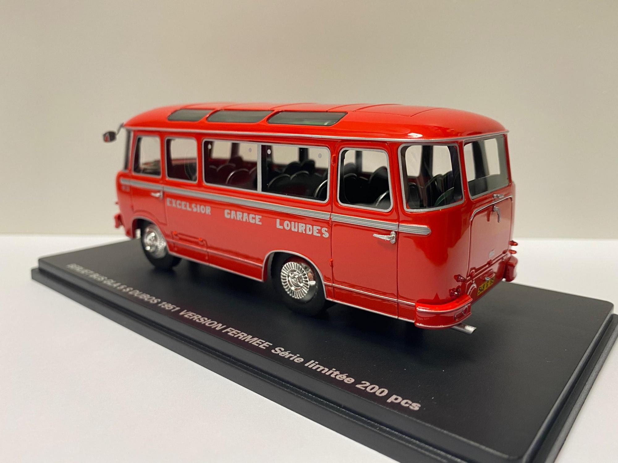 Berliet Bus GLA DUBOS 1951 Version Fermé