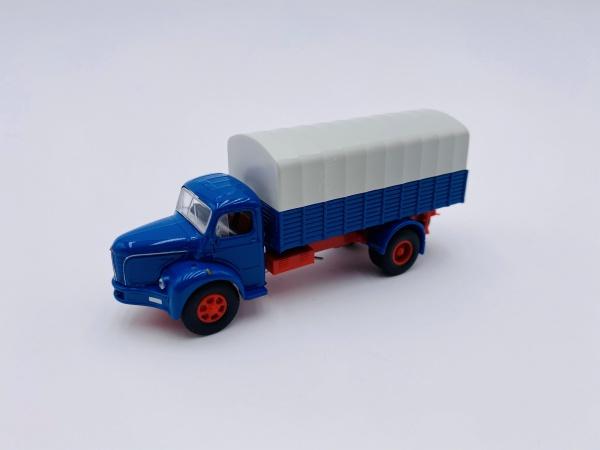 Berliet GLR 8 Bleue & Gris