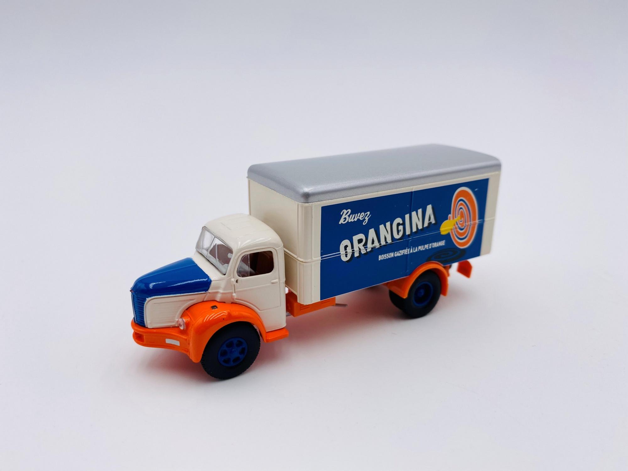 Berliet GLR 8 de 1949 ORANGINA