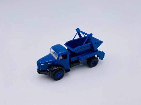 Berliet GLR8 de 1949 Benne à déchet Bleu