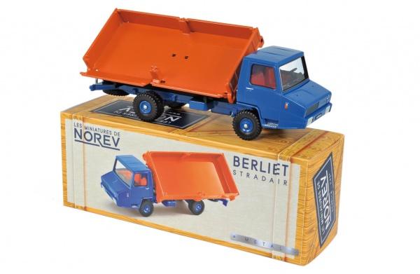 Berliet Stradair Benne basculante latérale Orange & Blue