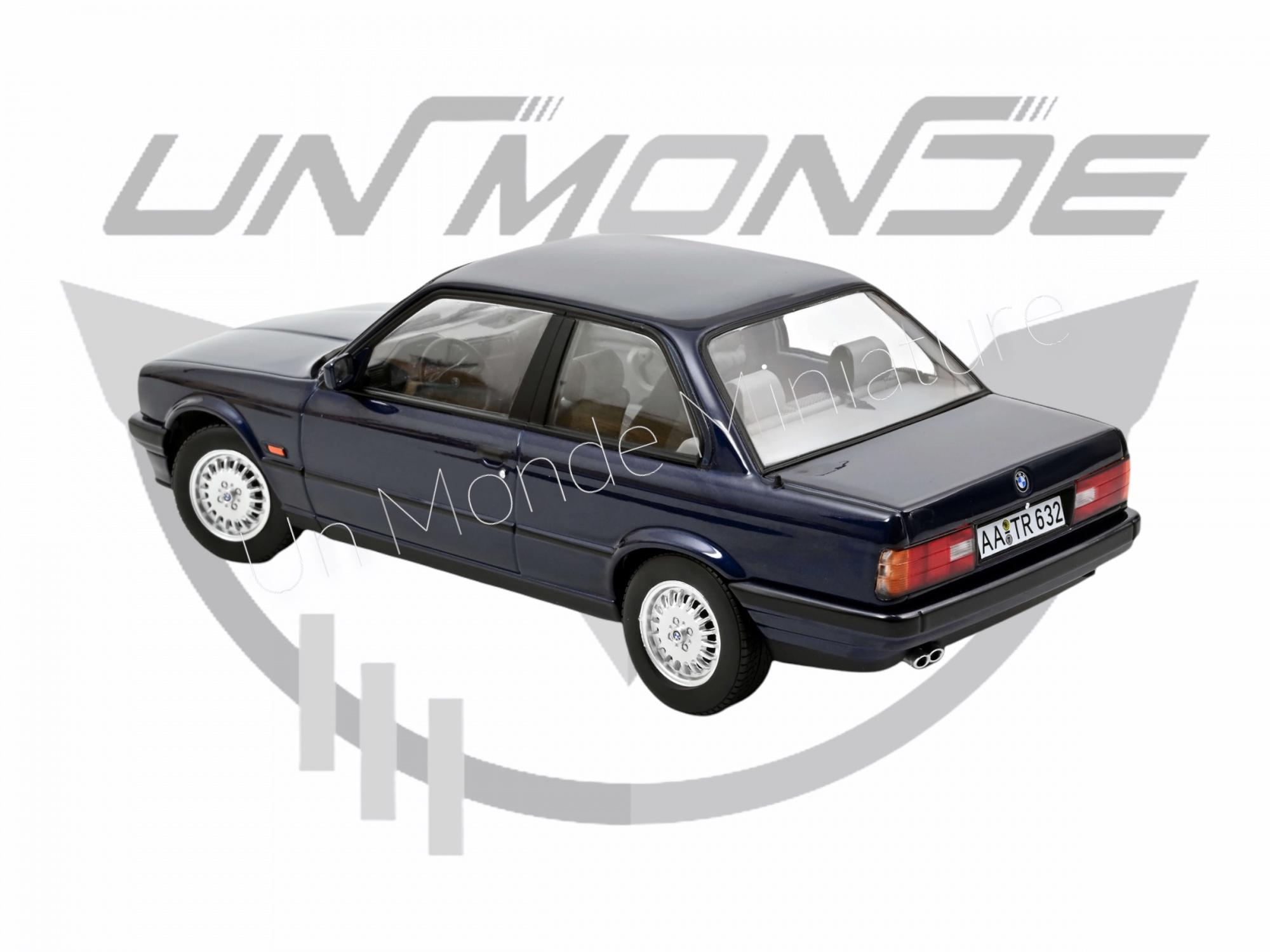 BMW 325i 1988 Blue metallic