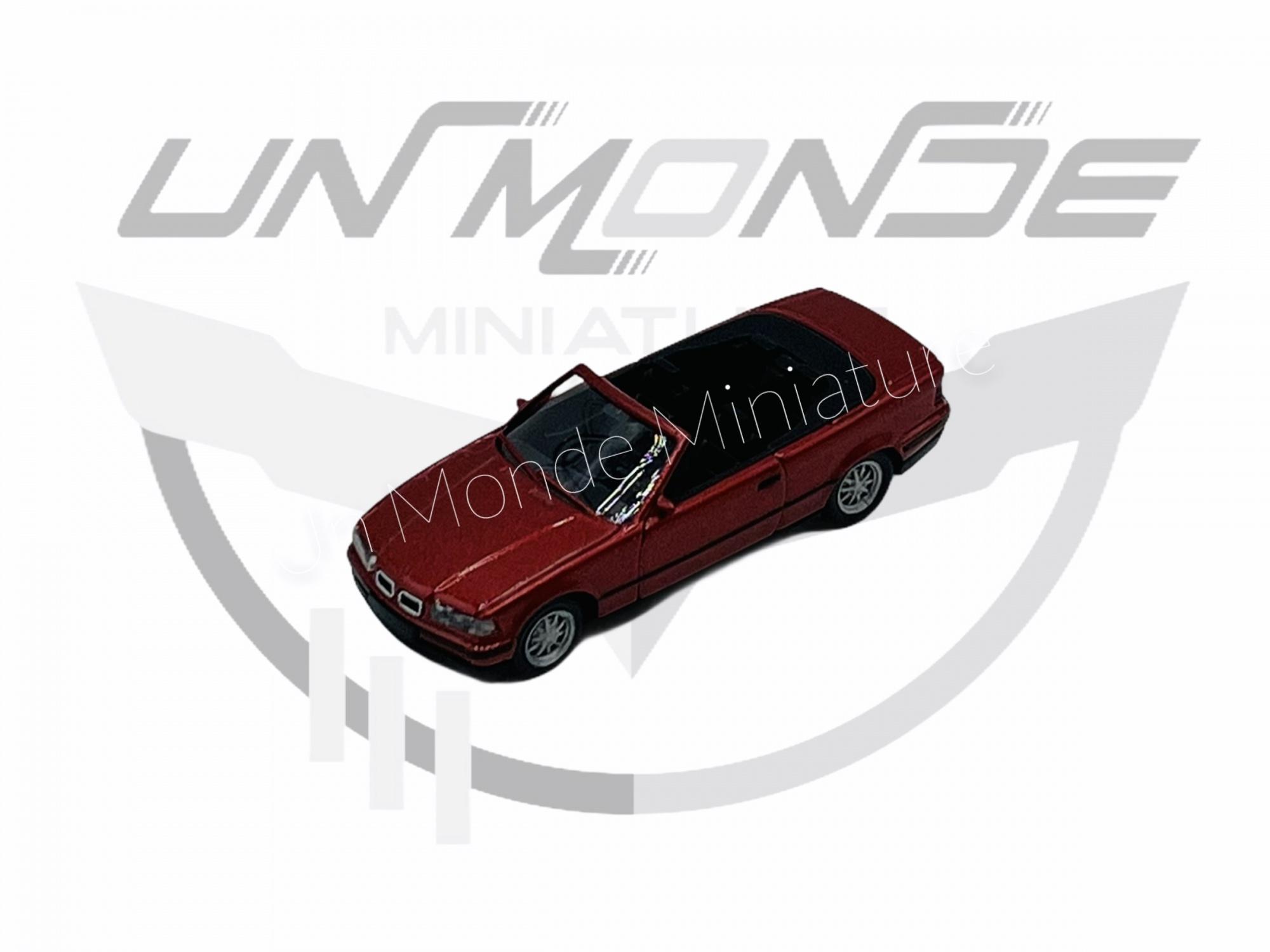 BMW 325i Cabriolet Mettalic Rouge