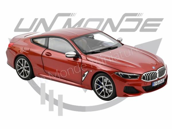 BMW 850i 2019 Orange metallic