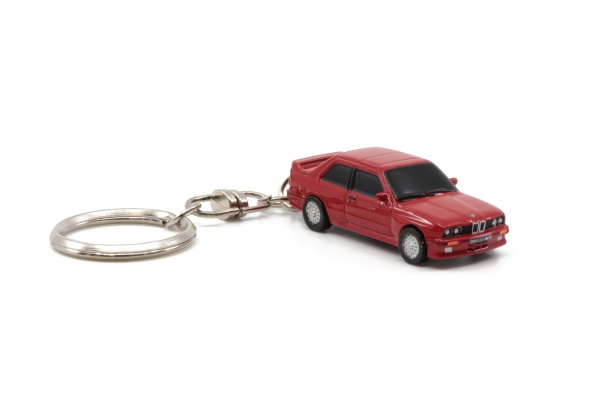 BMW E30 M3 Red Key Chain