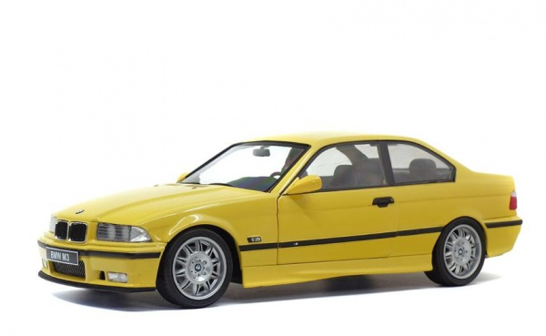 BMW E36 COUPE M3 Yellow