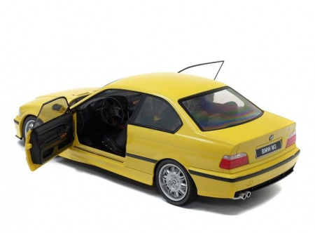 BMW E36 COUPE M3 Yellow