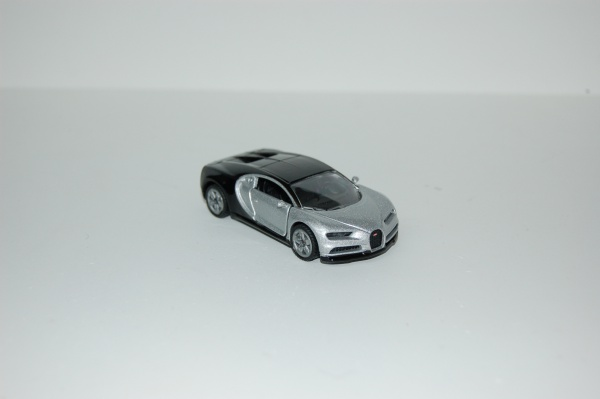 Bugatti Chiron Silver & Black