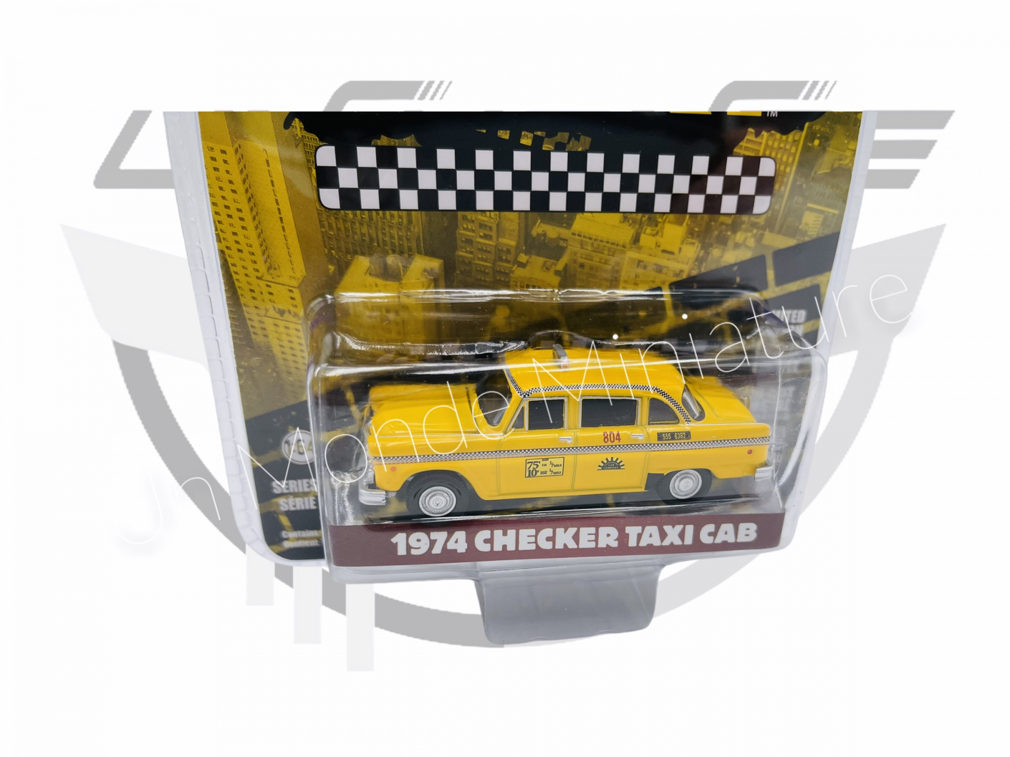 Checker Taxi Cab 1974