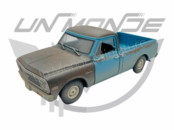 Chevrolet C-10 1971 Blue
