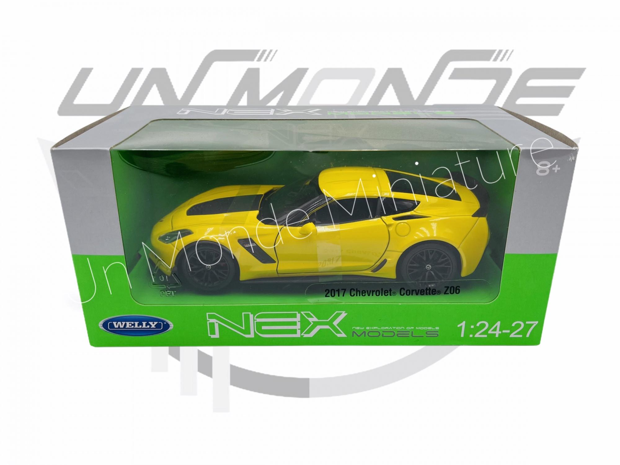 Chevrolet Corvette 2017 C7 Z06 Yellow