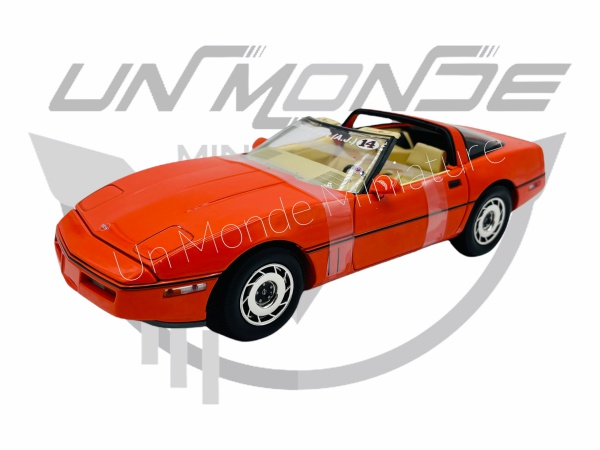 Chevrolet Corvette C4 Corvette Orange