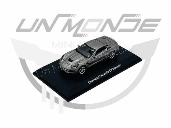 Chevrolet Corvette C7 Stingray Métallic Grey
