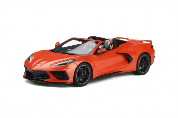 Chevrolet Corvette C8 Cabriolet Sebring Orange