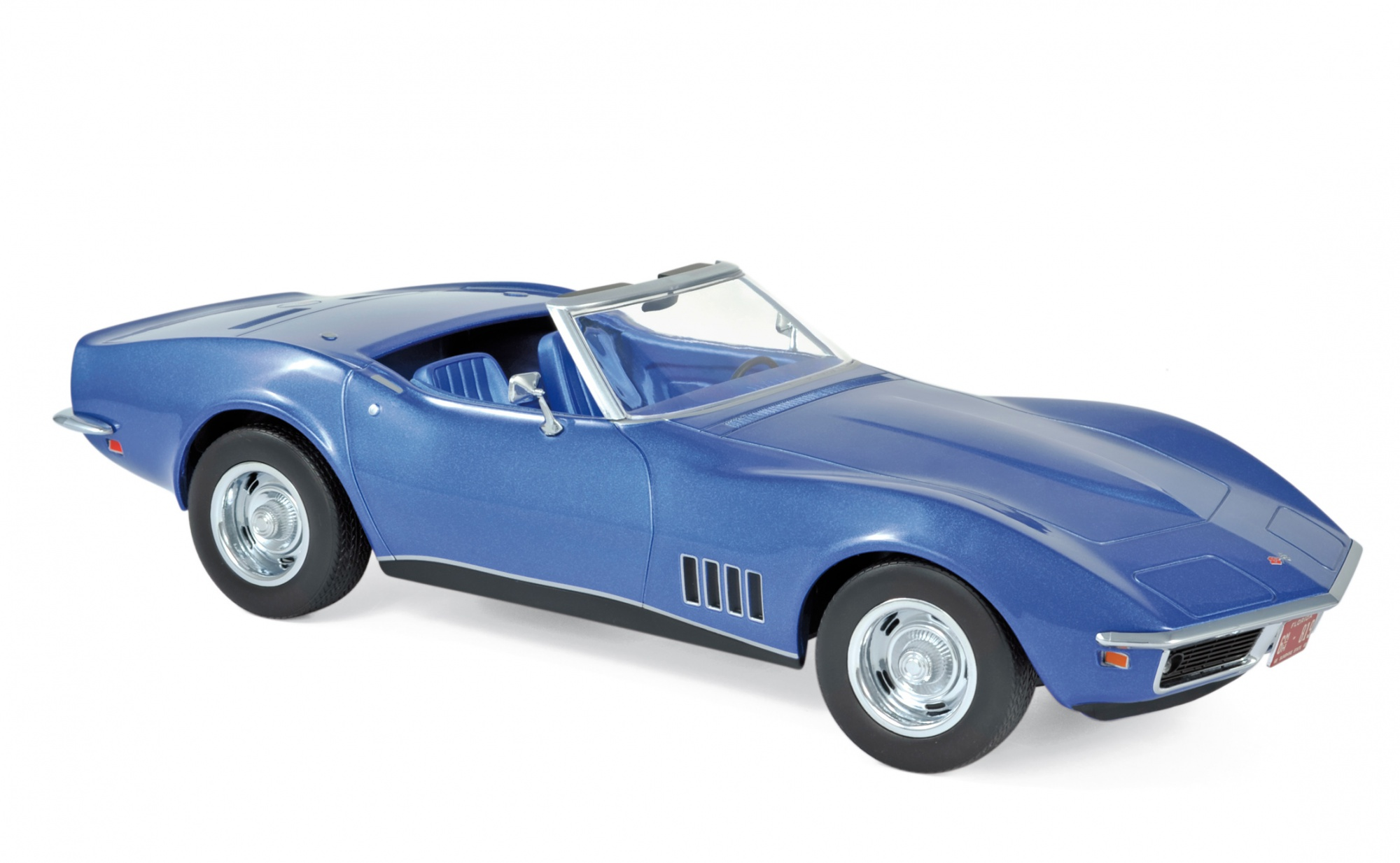 Chevrolet Corvette Convertible 1969 Blue Métallic
