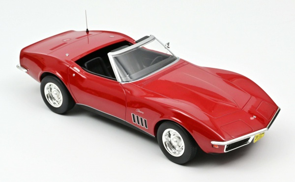 Chevrolet Corvette Convertible 1969 RED