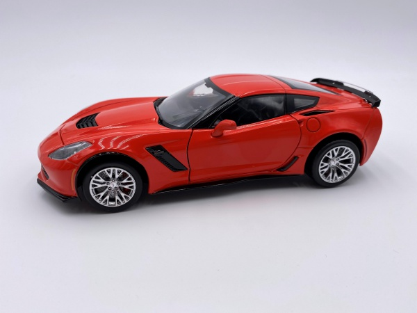 Chevrolet Corvette Z06 Red 2019