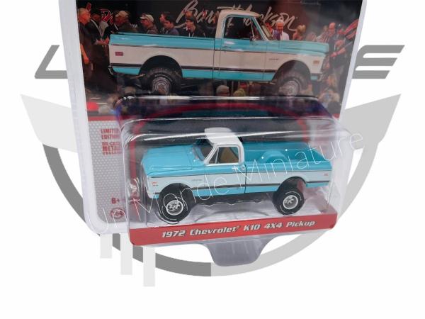 Chevrolet K10 4x4 Pickup 1972 Blue & White