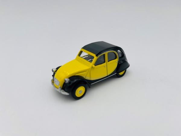 Citroën 2 CV Charleston de 1982 Black & Yellow