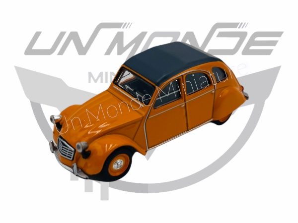 Citroën 2 CV Orange