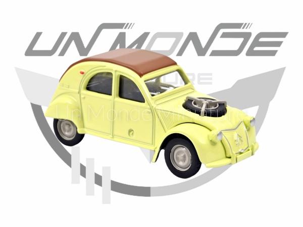 Citroën 2 CV Sahara Jaune