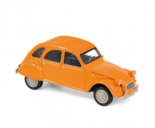 Citroën 2CV 6 Club 1979 Mandarin Orange Jet Car