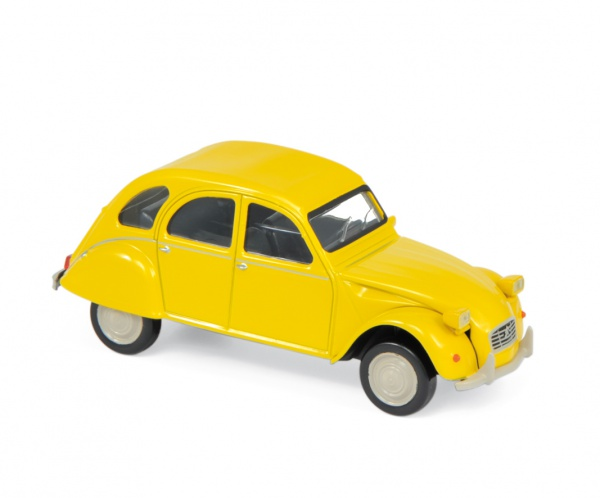 Citroën 2CV 6 Club 1979 Mimosa Yellow Jet Car