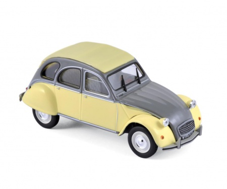 Citroën 2CV Dolly 1985 Rialto Yellow & Cormoran Grey