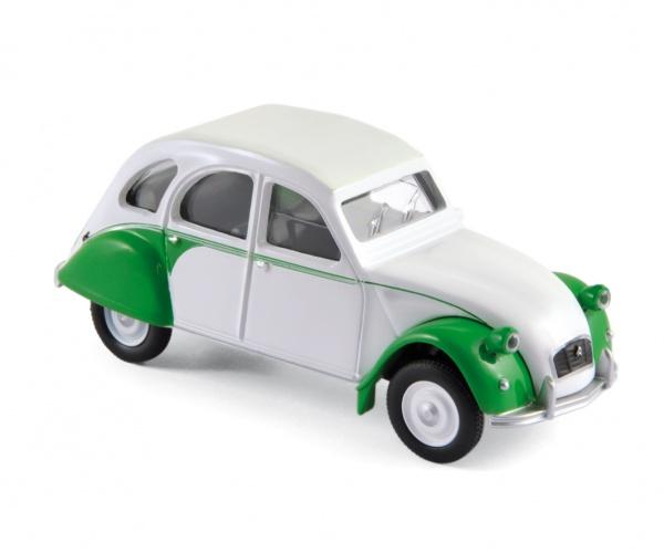 Citroën 2CV Dolly 1986 Green & White