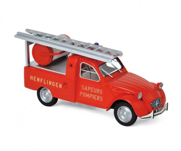 Citroën 2CV Pick-up with Ladder 1963 Pompiers