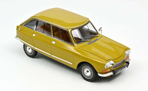 Citroën Ami 8 Club 1969 Bouton d\'Or Yellow