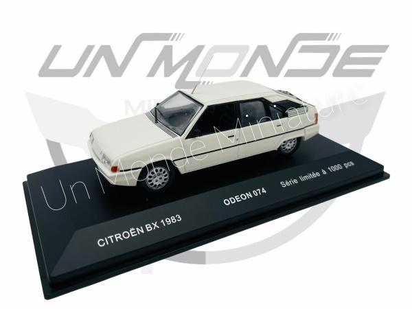 Citroën BX 1983 White