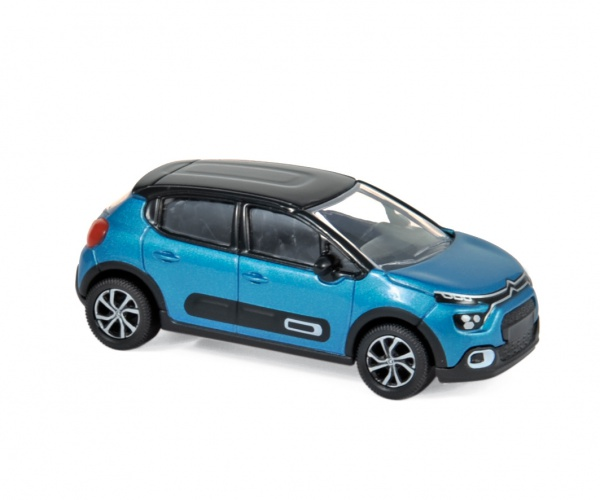 Citroën C3 2020 Blue & Black