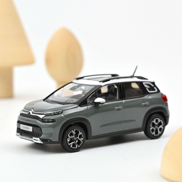 Citroën C3 Aircross 2021 Kaki Grey & White Roof
