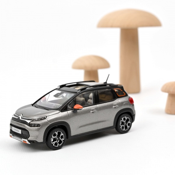 Citroën C3 Aircross 2021 Platinium Grey & Black Roof